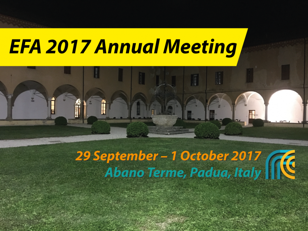EFA 2017 Annual Meeting