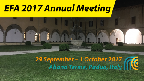 EFA 2017 Annual Meeting – A report