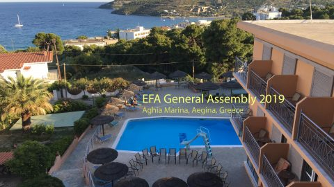 Notes from EFA General Assembly 2019